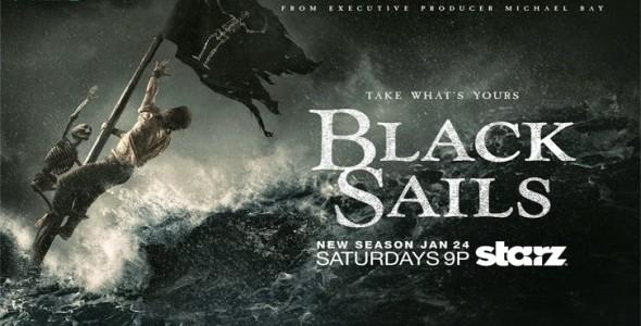 """Trzeci sezon """"Czarnych Żagli"""" (Black Sails)  – na razie jeszcze lepszy niż dwa pierwsze."""