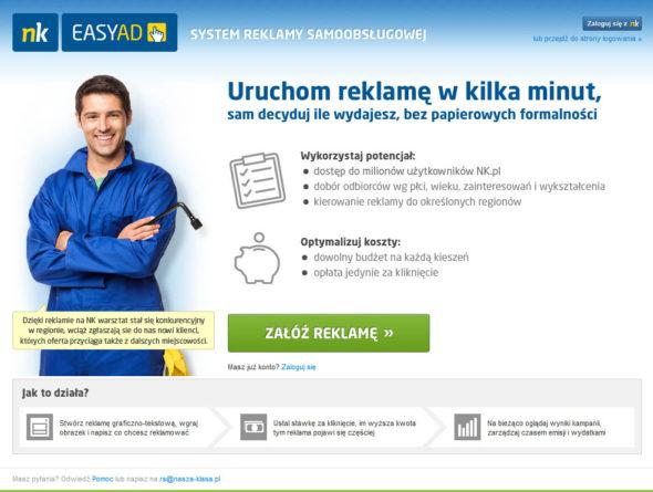 Poległem na próbie emisji reklam w nk.pl – jak teraz żyć??