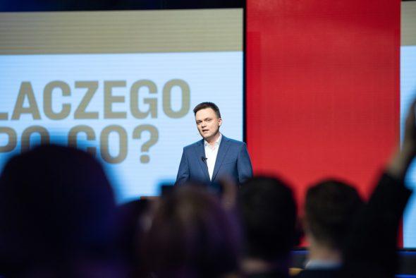 Bezprawnie wydawane pieniądze na kampanię wyborczą przez Szymona Hołownię.